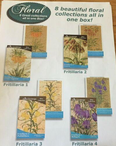 ANITA GOODESIGN CD BOX SET FLOWERS MACHINE EMBROIDERY