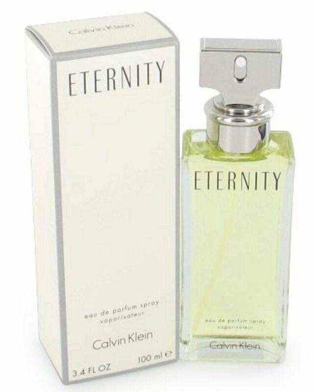 ETERNITY Perfume by Calvin Klein 3.4 oz edp for Women New Box Sealed