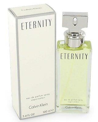 ETERNITY Perfume by Calvin Klein 3.4 oz edp for Women New Box Sealed
