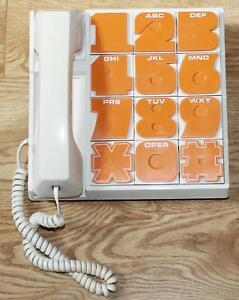 Vintage Realistic 10a Big Number Telephone