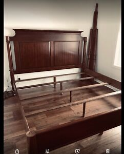 King size 4post bed