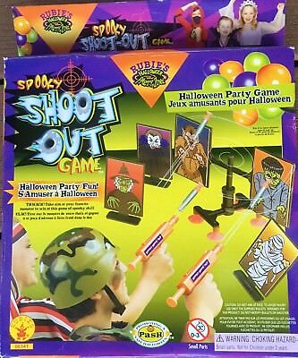 SHOOT OUT HALLOWEEN PARTY GAME SPOOKY SHOOTER AIR GUNS GHOST TARGET CHILDREN - Halloween Party Games Children
