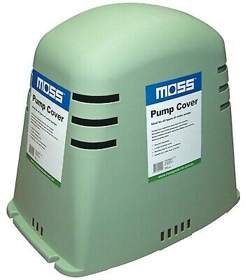 Moss GREEN PUMP COVER 530x490x350mm Suits Most Pumps, UV Treated