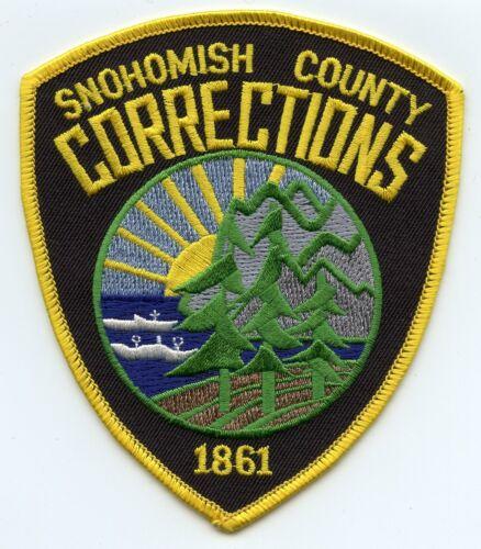 SNOHOMISH COUNTY WASHINGTON WA DOC CORRECTIONS SHERIFF POLICE PATCH