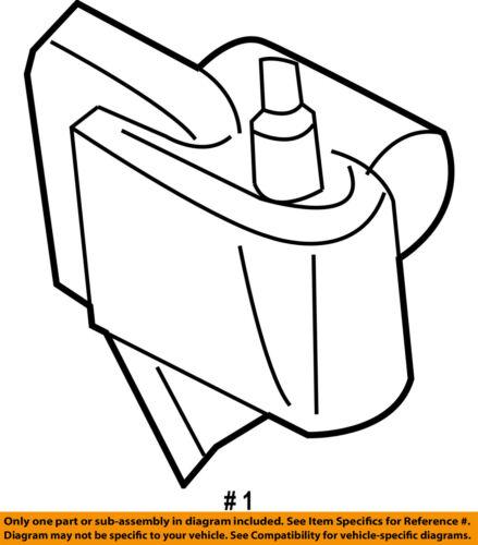 Chrysler Oem Ignition Coil 56028138af