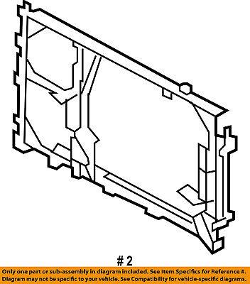 FORD OEM A/C Condenser Compressor Line-Mount Bracket AL1Z19702A A/c Condenser Mount