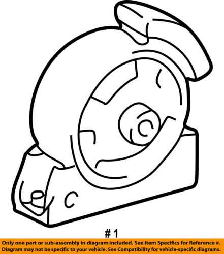 toyota oem 98 02 corolla engine motor mount torque strut 123610d021 1998 Toyota Corolla Door Lock seller payment information