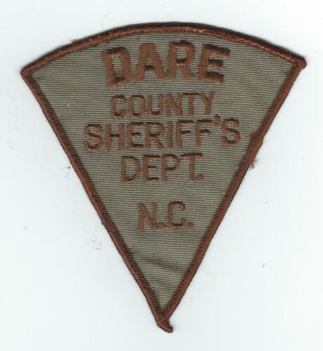 VINTAGE DARE COUNTY, NORTH CAROLINA SHERIFF