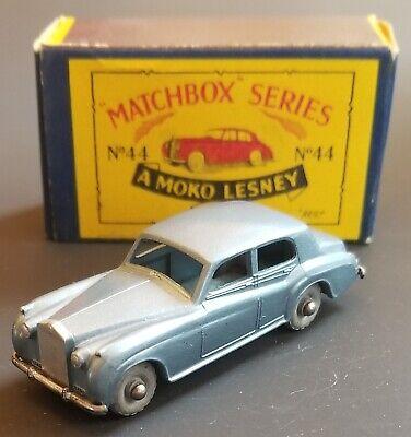 VINTAGE 1950s MATCHBOX 44a ROLLS ROYCE MINT IN B2 BOX ORIGINAL BEAUTY
