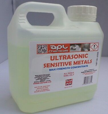 ULTRASONIC CLEANING FLUID SENSITIVE METALS FORMULA 1 LT