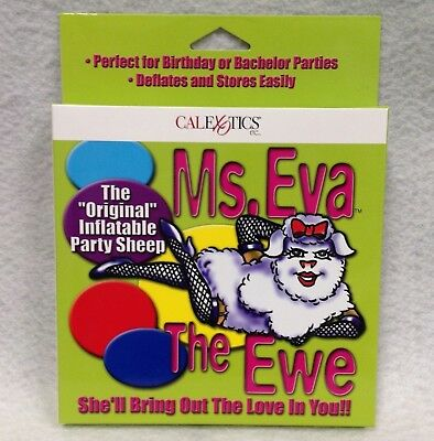 Ms Eva Ewe Party Sheep Inflatable BBQ Birthday Stag Bachelor Gag Gift - Bachelor Party Gifts
