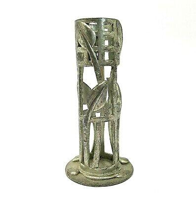 Vintage Pewter Rennie Mackintosh Posy Vase by A.E Williams