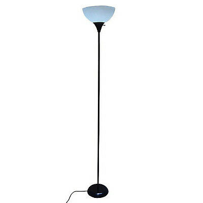 "LIVING ROOM Level LAMP 71"" Modern Tall 3 Way Reading Office Home Light Black"