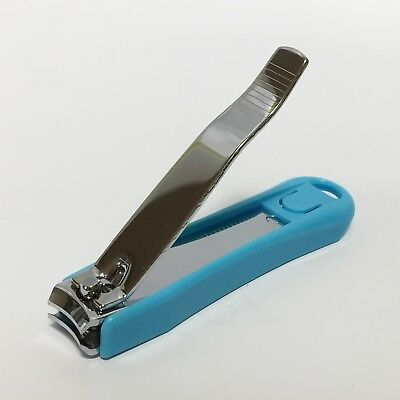 x 1 Stainless Steel Nail Clipper Cutter Trimmer with a holder Korean prod.