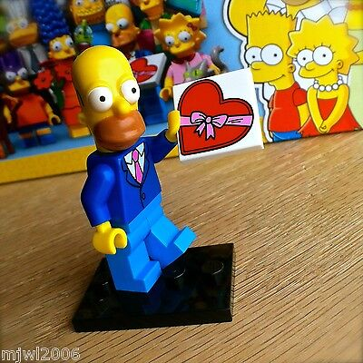 Best Spiderman Suits (LEGO 71009 THE SIMPSONS Minifigures DATE NIGHT HOMER Best Suit 1 SERIES 2)