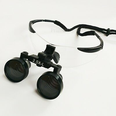New Surgical Dental Medical 2.5x Loupes 19 500mm Optical Glass Loupe Dentistry