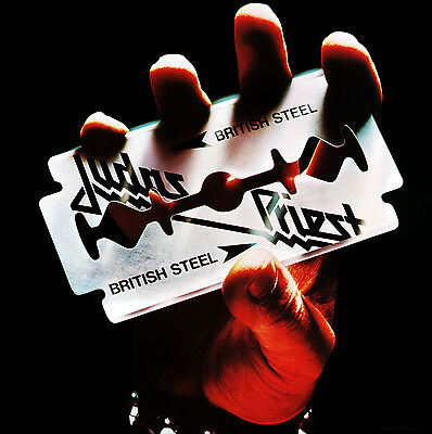 JUDAS PRIEST - British Steel Album Cover Art Print Poster 12 x 12