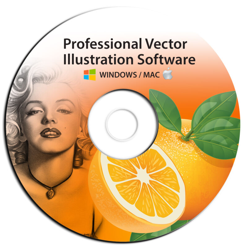 NEW 2020 Professional Illustrator Vector Graphics Image Drawing Software Program