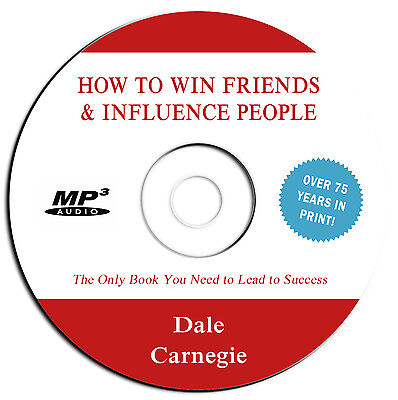 *NEW 2019-How to Win Friends & Influence People- Dale Carnegie-Audio Book MP3 CD (New Audio Book)