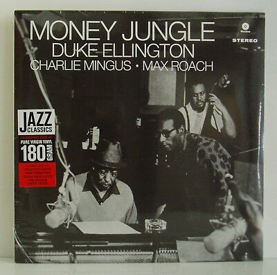 LP Duke Ellington Charlie Mingus Max Roach Money Jungle  Wax Time 2013 neu ovp