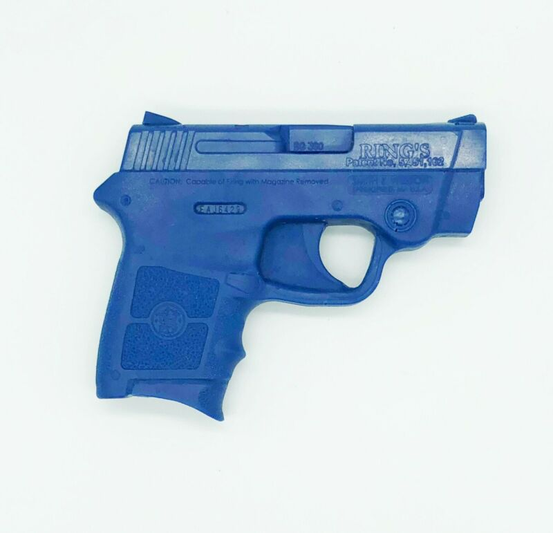 Rings Blue Gun Smith & Wesson Bodyguard 380, FREE SHIPPING