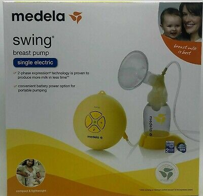Medela Swing Single Electric Breast Pump Compact & Lightweight Genuine