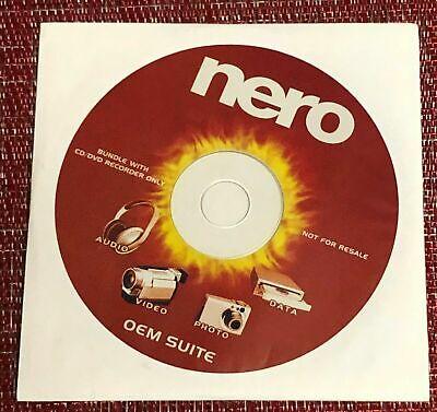 NERO OEM Suite CD & DVD Burning Software.