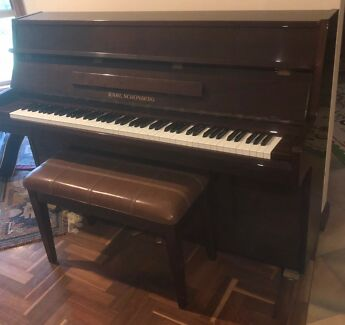 Karl Schönberg Polished Walnut Piano