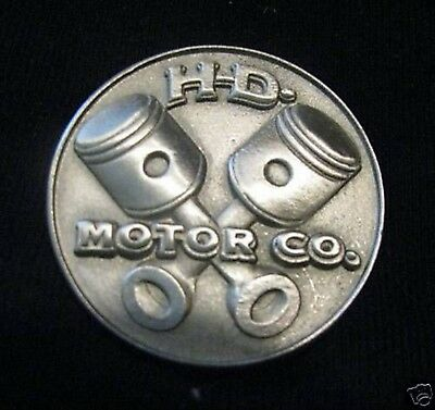 Harley Davidson Pin HD Motor CO. streng limitierte Auflage No Reserve Kutte MC