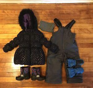 Full winter set for toddler 24 months & more