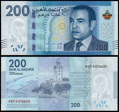 Morocco//Marokko //Maroc//Marruecos 100 DIRHAMS 2012 UNC