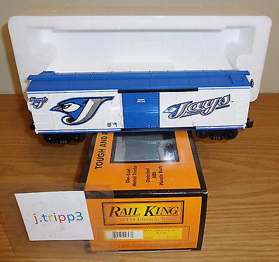 MTH 30-74256 TORONTO BLUE JAYS MLB BASEBALL BOXCAR O GAUGE TOY TRAIN -