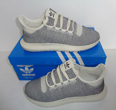 Adidas Ladies Tubular Shadow Womens White Trainers Lace Shoes New UK Size 6