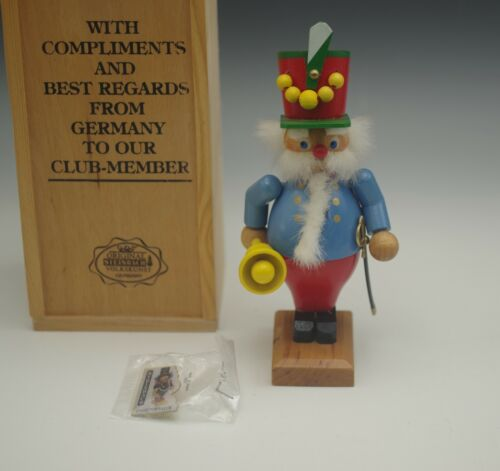 STEINBACH GERMANY NUTCRACKER TOWN CRIER COLLECTORS CLUB EDITION BOXED