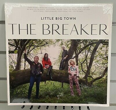 THE BREAKER -- Little Big Town (Country Vinyl 2017, Gatefold, Capitol) SEALED
