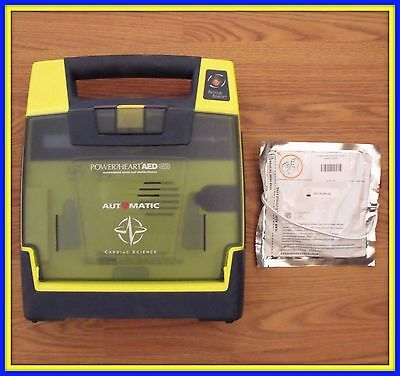 Cardiac Science Powerheart G3 AED With New Pads 9300