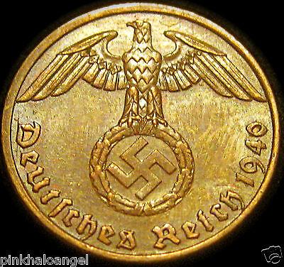 Germany   German 1940A Reichspfennig Coin   German Third Reich World War 2 Coin