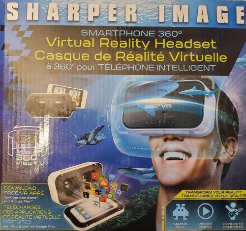Sharper Image Virtual Reality Headset Smartphone Intelligent