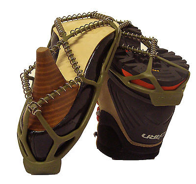 Shoe-String Winter Snowfeet boots Winter Hike Traction Cleats for Snow and Ice