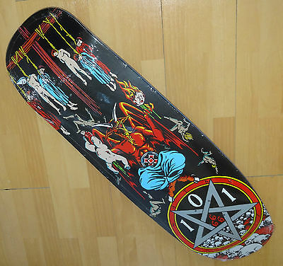 "101 Natas Devil Worship Pro Skateboard Deck - 9.83"" - 2016  Cliche Re Issue"
