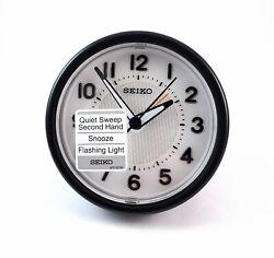 Seiko Quartz Alarm Clock QHE087KL