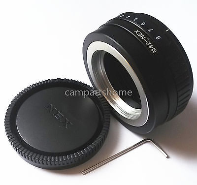 Tilt M42 Lens To Sony NEX E Mount NEX3 NEX5 NEX7 NEX6 6L A7 A7R A6000 Adapter