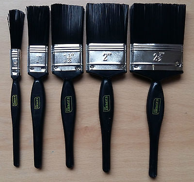 Cheap Paint Brushes (50 x Paint Brushes 10 Each Of 1/2