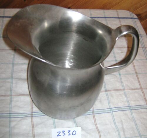 Vintage VOLLRATH Stainless Steel US Military Hospital Pitcher (#15)