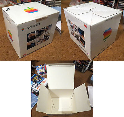 BOX ONLY Apple Care Kit + Monochrome IIe Monitor + Carry Bag promo promptional