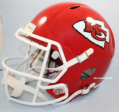 Used, KANSAS CITY CHIEFS - Riddell Full Size SPEED Replica Helmet  for sale  Shipping to Canada
