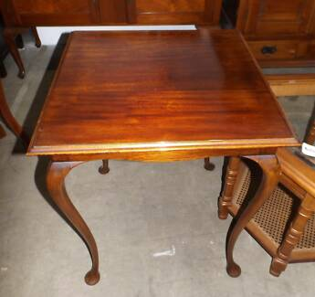 Square Wooden Occasional Table (0528) Thebarton West Torrens Area Preview