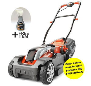 Flymo Mighty-Mo Cordless Gold Grade +FREE GIFT RRP£9.99 +Battery and Charger