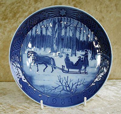 Royal Copenhagen-Christmas Plate 1984