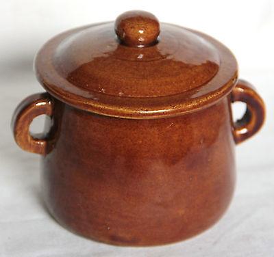 Individual Stoneware Lidded Soup Pot - Individual Lidded Pot